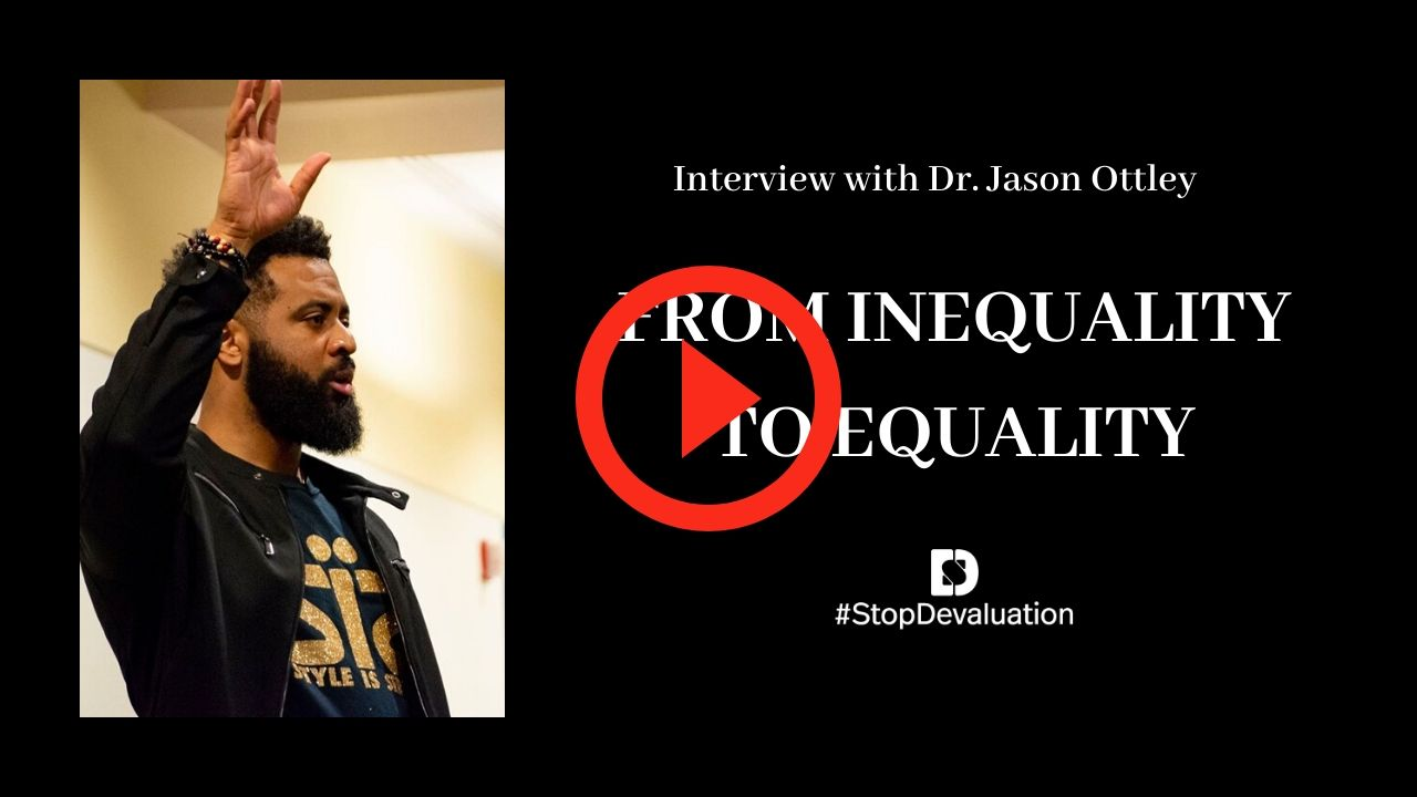 From Inequity to Equity Dr. Jason Ottley