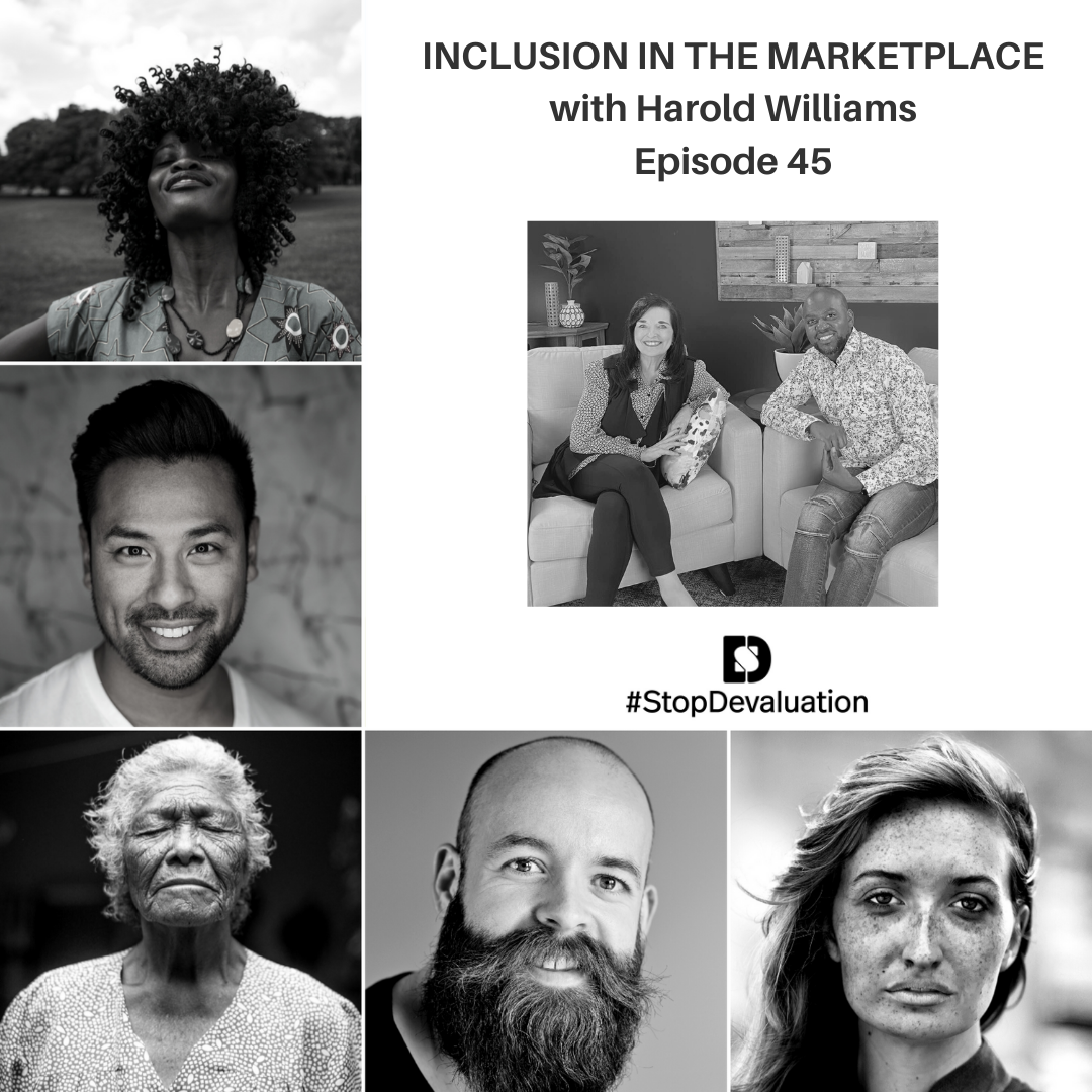 EP45 Inclusion in the Marketplace with Harold Williams