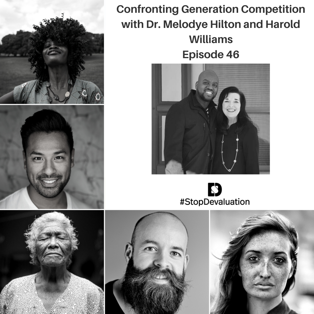 EP46 Confronting Generational Competition with Dr. Melodye Hilton and Harold Williams